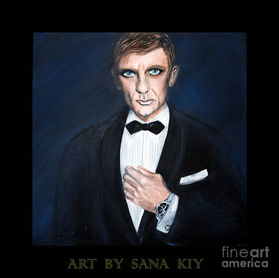 Painting - A Gentleman Of Good Fortune. Portrait by Oksana Semenchenko