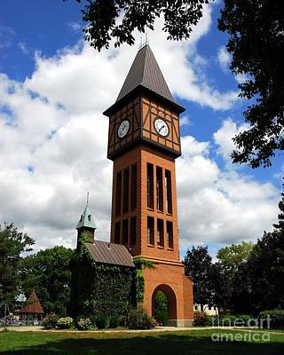 Photograph - A German Bell Tower by Mel Steinhauer