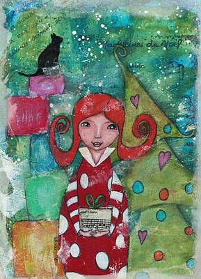 Mixed Media - A Gift For You by Barbara Orenya