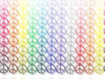 Fuzzy Digital Art - A Glimmer Of Hope by Lorna Hooper