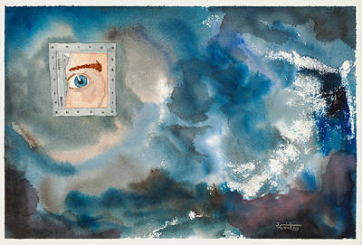 Mental Painting - A Glimpse Into My Soul by John Friday