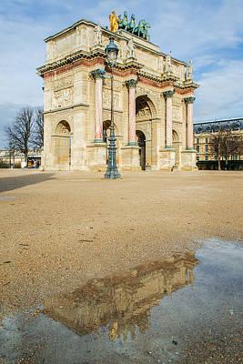Arc De Triomphe Du Carrousel Wall Art - Photograph - A Glimpse Of Another World by Michael Muraz