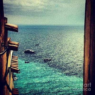 Photograph - A Glimpse Of Blue Waters by H Hoffman