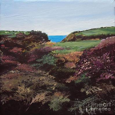 Painting - A Glimpse Of Sea by Diane Ursin
