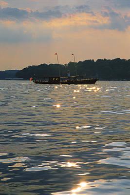 Wisconsin Photograph - A Glint Of Glory - Lake Geneva Wisconsin by Bruce Thompson