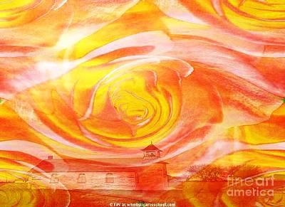 A Glorious God Art Print by PainterArtist FIN