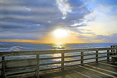 Topsail Island Photograph - A Glorious Moment by Betsy Knapp