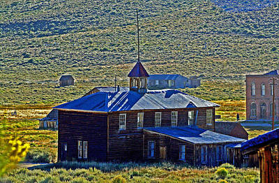 Photograph - A Gold Camp Church by Joseph Coulombe