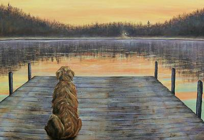 Painting - A Golden Moment by Susan DeLain