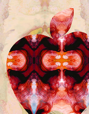 A Good Apple - Fruit Art By Sharon Cummings Art Print