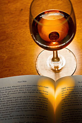 Travel - A Good Book And A Glass Of Wine by Dave Stegmeir