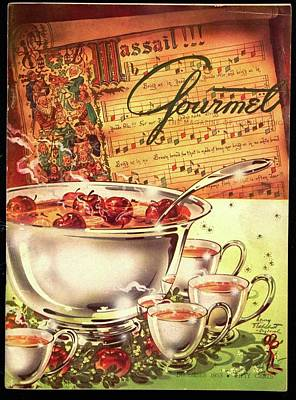 Sheet Music Photograph - A Gourmet Cover Of Apples by Henry Stahlhut