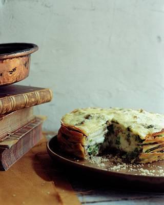 A Gourmet Torte Art Print
