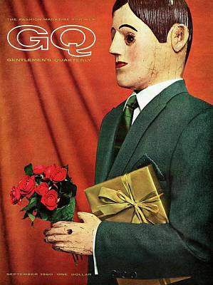 Lapel Photograph - A Gq Cover Of A Hammonton Park Suit by Manuel Denner