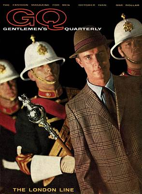 A Gq Cover Of Guards Art Print by Chadwick Hall