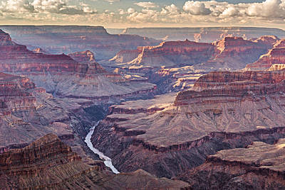 Weather Photograph - A Grand Sunset - Grand Canyon National Park Photograph by Duane Miller