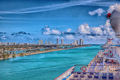 Photograph - A Great Day To Sail- In Hdr by Rene Triay Photography