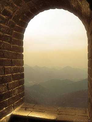 Photograph - A Great View Of China by Nicola Nobile