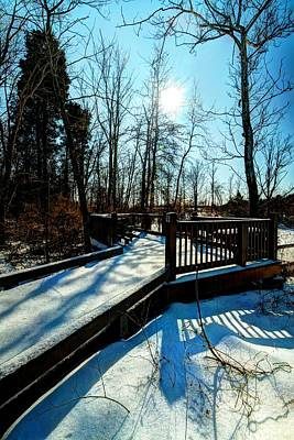 Photograph - A Great View Of Winter by Haren Images- Kriss Haren