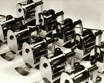 Photograph - A Group Of Pencil Sharpeners by Lusha Nelson