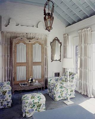 Photograph - A Guest Room At Hickory Hill by Tom Leonard
