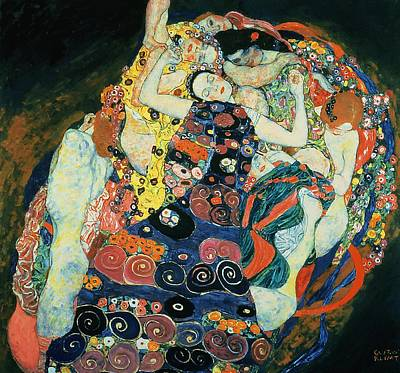 Painting - The Maiden by Gustav Klimt