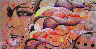 Wall Art - Painting - A Gypsy's Sun by Alicia Post