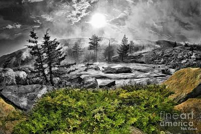 Photograph - A Hafe Colorful Yosemite Day by Blake Richards