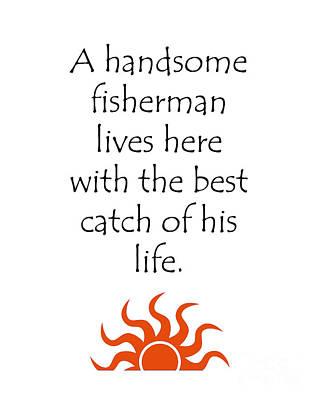 Digital Art - A Handsome Fisherman by Lee Owenby