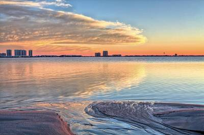 Navarre Beach Photograph - A Happy Ending In Navarre by JC Findley