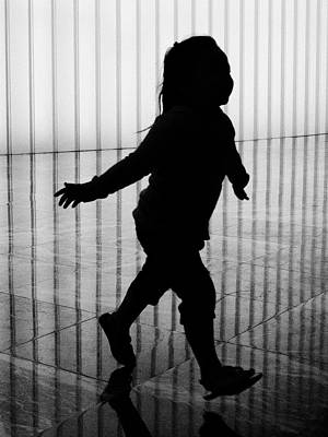 Photograph - A Happy Silhouette by Cornelis Verwaal