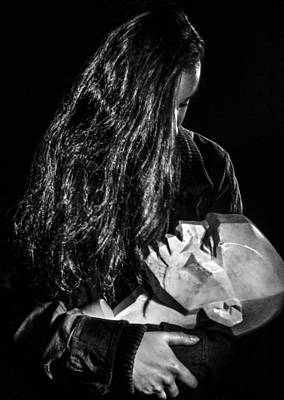 Woman Photograph - A Head Of The Mind by Tiffany Luptak