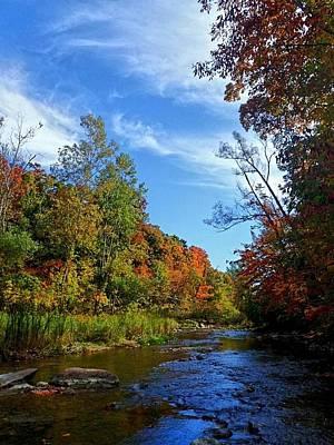 Photograph - A Hidden Creek by Kelly Mills
