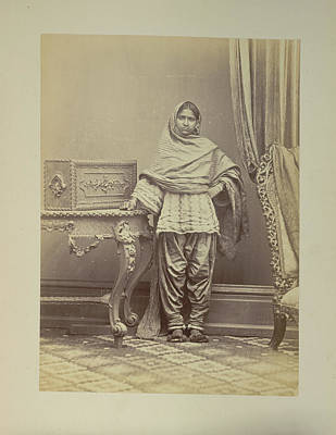 A Hindu Girl From Sindh Art Print by British Library