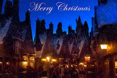 Photograph - A Hogsmeade Christmas by Mark Andrew Thomas