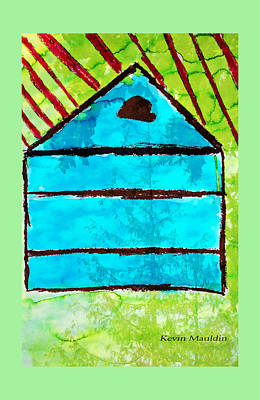 Painting - A House A Home By Kevin Mauldin Jr by Marie Jamieson