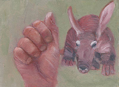 Painting - A Is For Aardvark by Jessmyne Stephenson