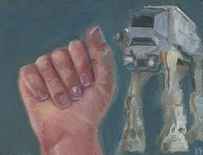 Painting - A Is For At-at by Jessmyne Stephenson
