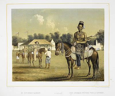A Javanese Chief Art Print