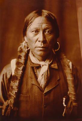 A Jicarilla Apache Man Art Print by Mountain Dreams