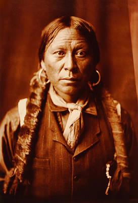 Indian Princess Digital Art - A Jicarilla Man Native American  by Edward S Curtis