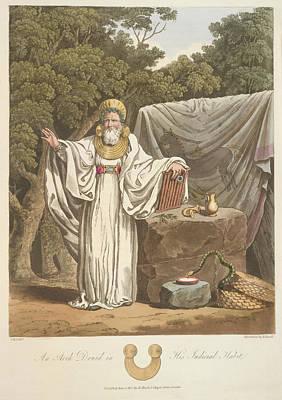 A Judicial Druid Art Print