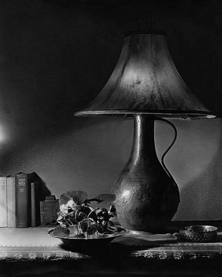 Lamp Photograph - A Jug Lamp by Joseph B. Wurtz