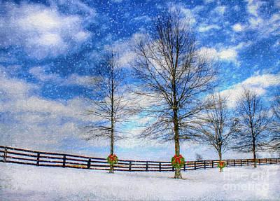 A Kentucky Christmas Art Print by Darren Fisher