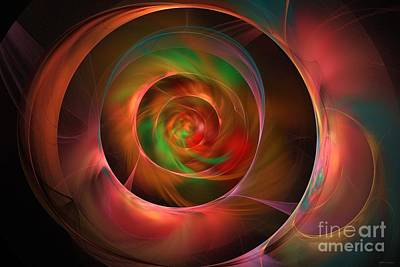 A Kind Of Inner Opalescence Art Print