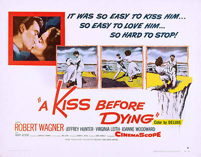 A Kiss Before Dying, Us Lobbycard, 1956 Art Print by Everett