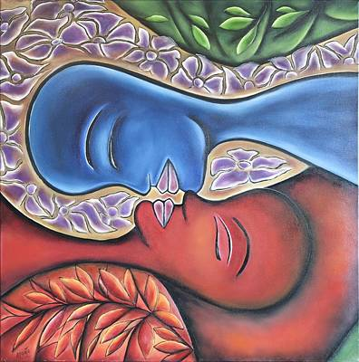 A Kiss In The Yunque Rainforest Original