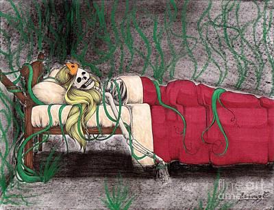 A Kiss That Never Came Art Print by Bibo