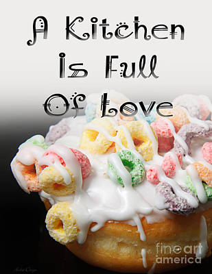 Digital Art - A Kitchen Is Full Of Love 14 by Andee Design