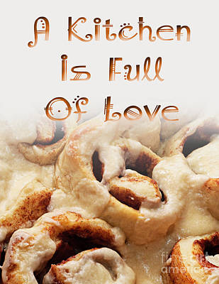 Digital Art - A Kitchen Is Full Of Love 5 by Andee Design